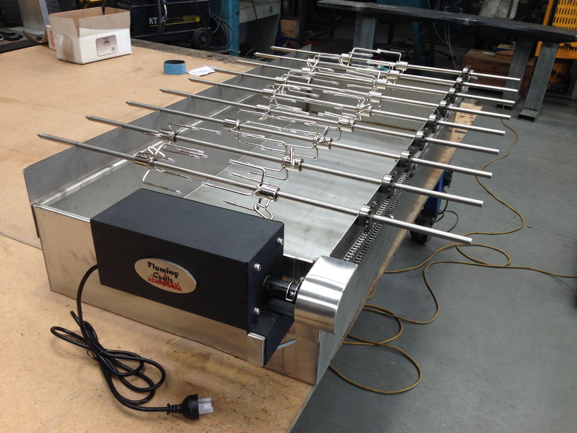 BBQ Spit - Custom Engineering Components
