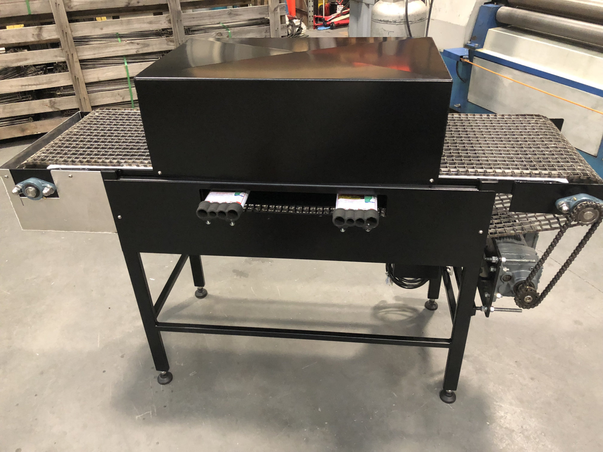 Bake Conveyor - Custom Engineering Components