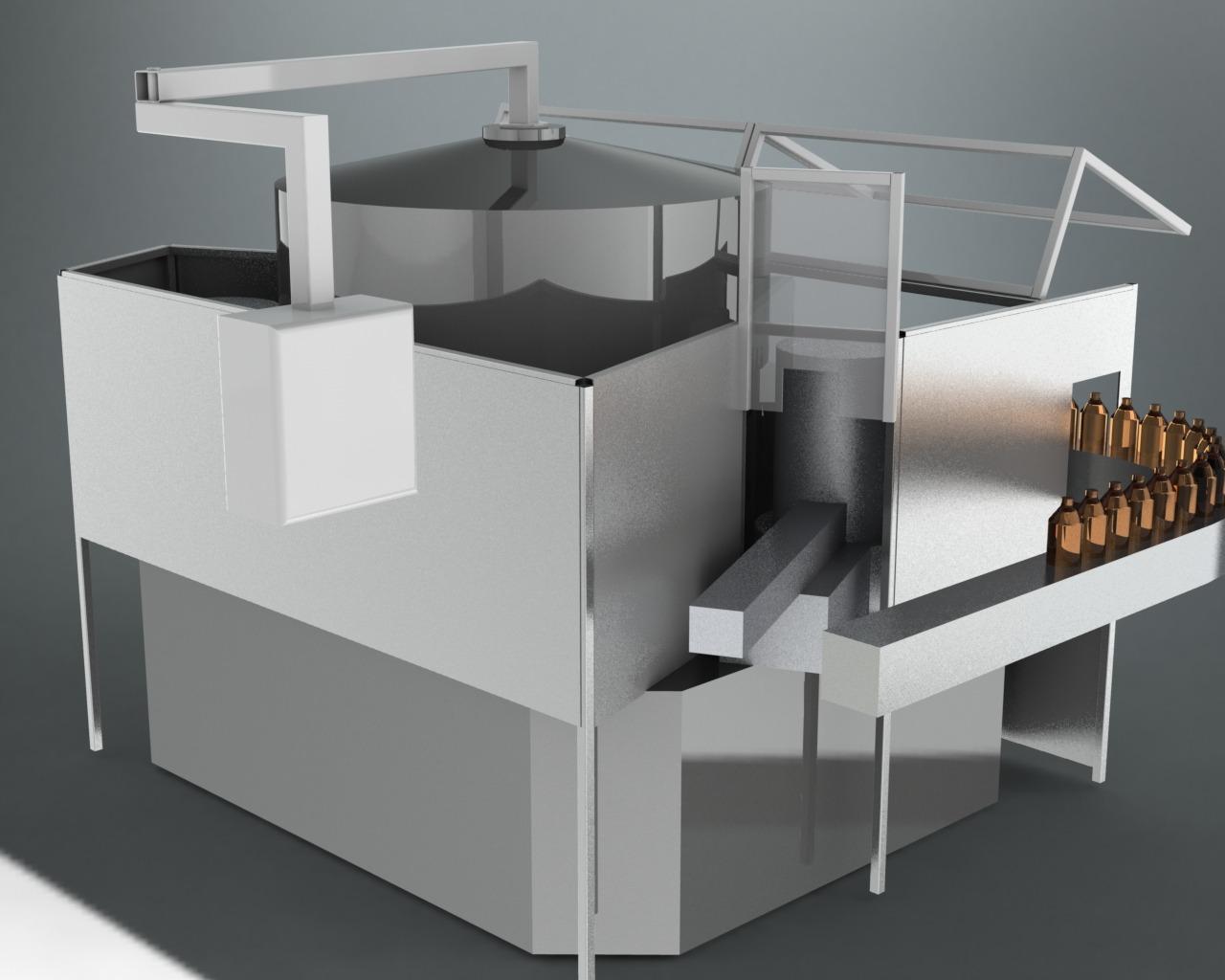 CAD Design Concepts for Equipment guards (2) - Change Parts